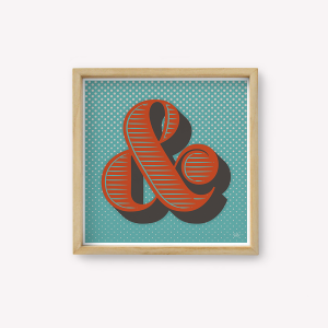 Wall Art Ampersand