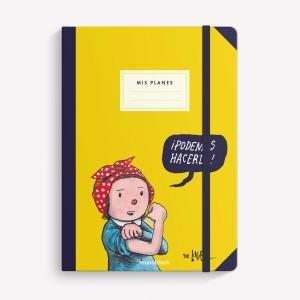 Cuaderno Cosido A5 Liso Macanudo Podemos Hacerlo