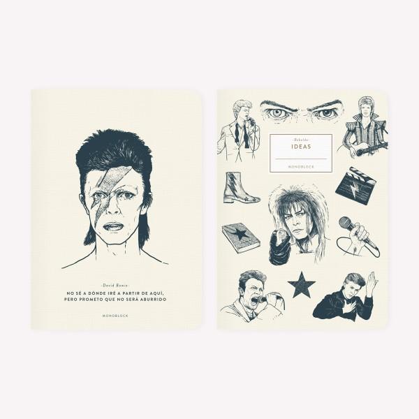 Libretas David Bowie x2