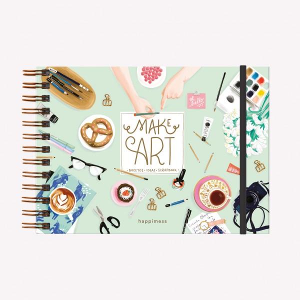 Cuaderno Apaisado Happimess Make Art