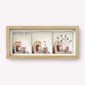 Wall art Buen Libro