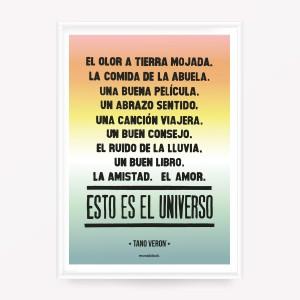 Poster Esto es el Universo