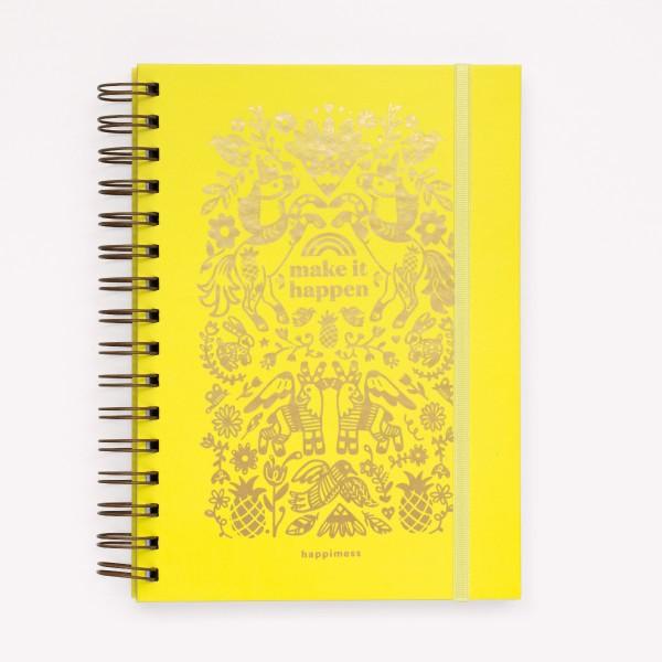 Cuaderno de Inspiración Happimess - Make It Happen