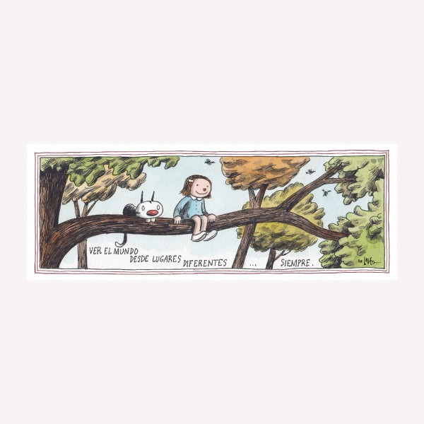 Tira imantada por Liniers - Leer es mi Yoga