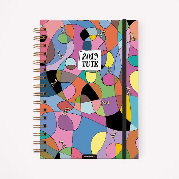 Agenda 2019 A5 Semanal Tute Mundo Interno