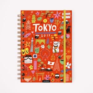 Agenda 2019 A5 Semanal De Viaje Tokyo