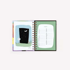 Agenda 2019 Pocket Semanal Tute Atardecer