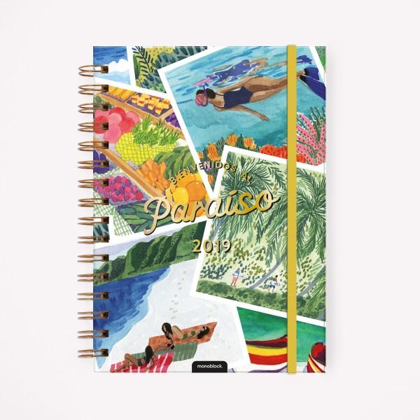 Agenda 2019 A5 Semanal De Viaje Paraiso Costa Rica