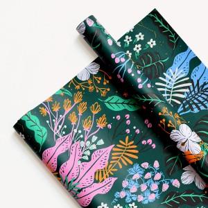 Papel Decorativo 50x70 Jungla Verde