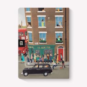 Cuaderno Cosido Mediano París-Londres Rayado