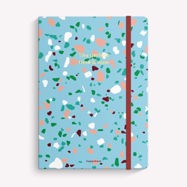 Cuaderno Cosido Mediano The Perfect Time Rayado