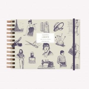Cuaderno Apaisado Coco Chanel