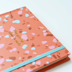 Cuaderno Tapa Dura The Perfect Time Rayado