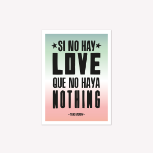 Viñeta Imantada Love - Nothing