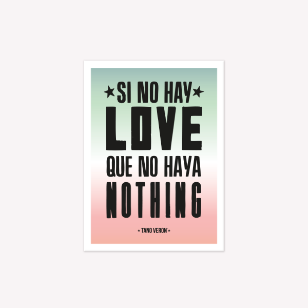 Viñeta Imantada Love Nothing