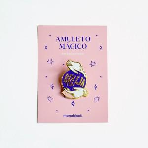 Pin Encantado Amuleto Bola Mágica