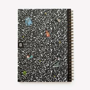Cuaderno A4 Tapa Dura Rayado Composition Macanudo