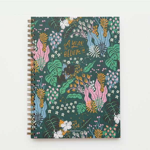 Cuaderno A4 Tapa Dura Rayado A Year to Believe in