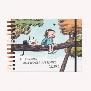 Cuaderno A5 Apaisado Liniers Lugares Diferentes