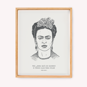 Wall Art Frida Kahlo