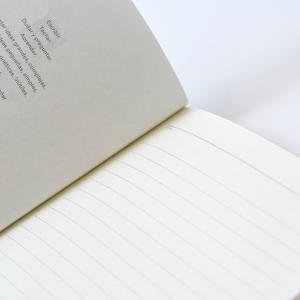 Cuaderno Cosido Mediano New York Rayado