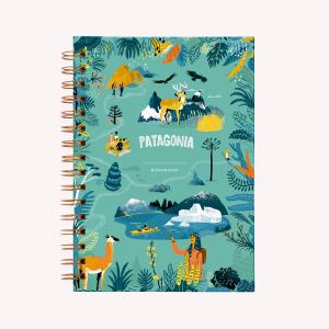 Cuaderno Anillado Mediano Patagonia Punteado