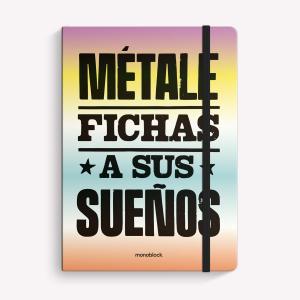 Cuaderno Cosido Mediano Fichas Liso