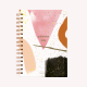 Cuaderno Anillado Mediano Quilombo Feliz Punteado