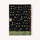 Cuaderno Anillado Mediano Noche Estrellada Punteado