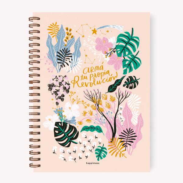 Cuaderno A4 Anillado Revolución Rayado