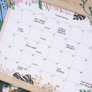 Planner Mensual Happimess Amor propio